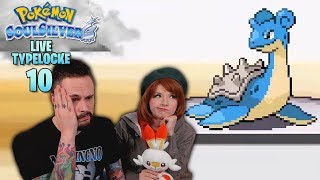 Pokemon SoulSilver Randomizer Typelocke LIVE Part 10 by Ace Trainer Liam