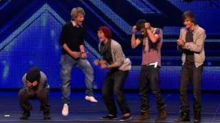 The new groups - X Factor bootcamp (Full Version) - YouTube