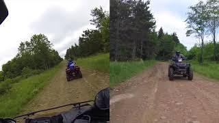 7. #11 Polaris Sportsman XP 1000 LE Exhaust Baby! On the Pipe and Loving It, ATV Rides Tall Pines