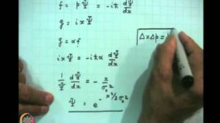 Mod-02 Lec-07 The Free Particle (Contd.)