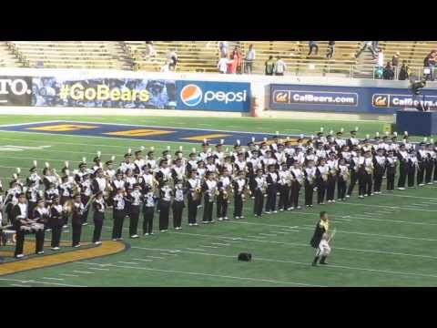 kevinsyoza - The University of California Marching Band perform their postgame show after the Pa-12 college football game between the California Golden Bears and the Ariz...