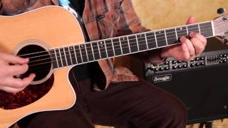 """How to Play """"Arms of a Woman"""" by Amos Lee - Easy Songs on Acoustic Guitar - Tutorial"""