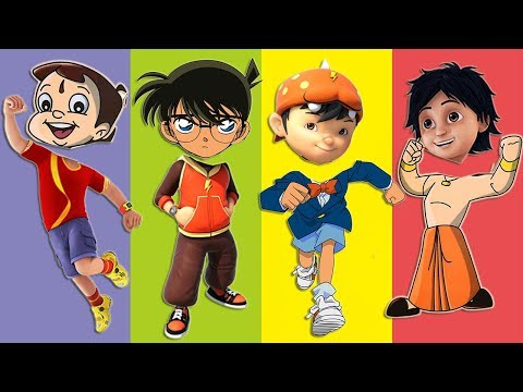 Video Wrong Heads Super Beem Boboiboy Detective Conan Shiva Finger Family Song download in MP3, 3GP, MP4, WEBM, AVI, FLV January 2017
