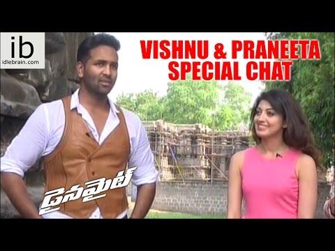 Dynamite – Vishnu & Praneeta special chat