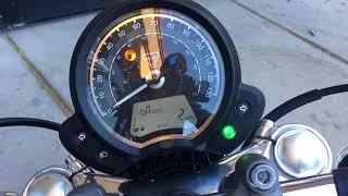 6. 2018 Triumph Speedmaster (black)