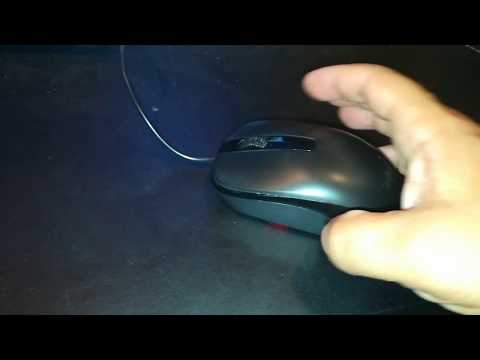 Amazon basics $5.22  Mouse review, Genius Classic Wired Optical Mouse, Roll the Scroll Wheel