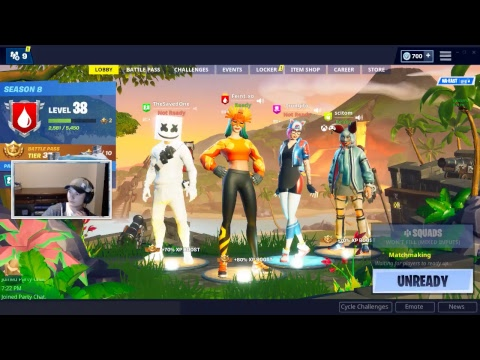 FortniteMaster Team Plays Squads