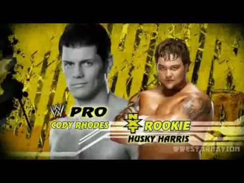 WWE NXT 6/22/10 Season 2 - New Rookies With Their Pro's *HD*