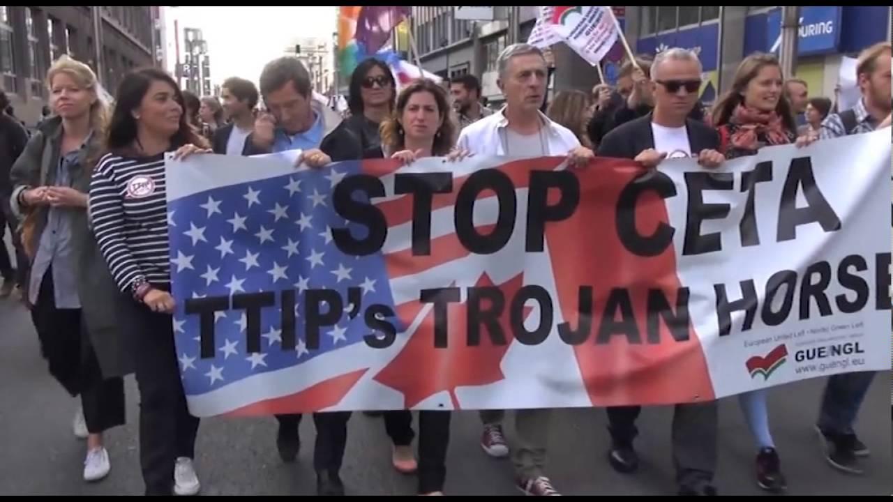 Ο ΣΥΡΙΖΑ στηρίζει τη CETA