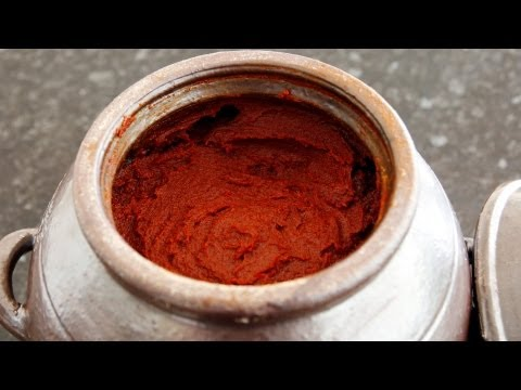 Korean Recipe: How to make Hot Pepper Paste from Scratch – Gochujang – 고추장