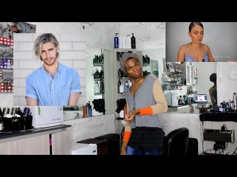 HAIRDRESSER reacts to BRITTNEY GRAY REACTION to BRAD MONDO DESTROYING SNITCHERY'S HAIR