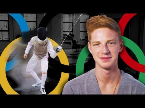 fencing - Meet 19-year-old Race Imboden, the world's youngest top-ranked fencer, as he prepares to compete at the 2012 London Summer Olympics. Watch how Race learned t...