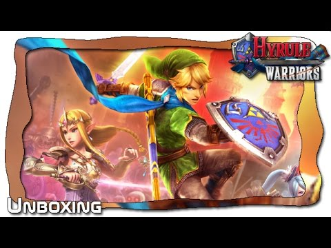 Unboxing Hyrule Warriors Limited Edition (Wii U)