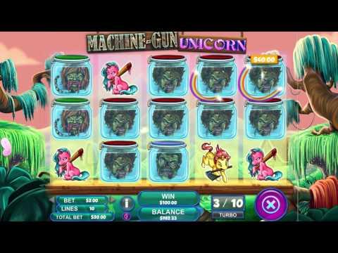 Machine Gun Unicorn Video Slot Game - Trailer