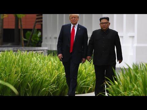 Nordkorea: Kim bittet Trump schriftlich um zweites Treffen