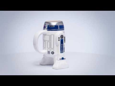 Zak Designs: Star Wars Sculpted Coffee Mug - R2D2
