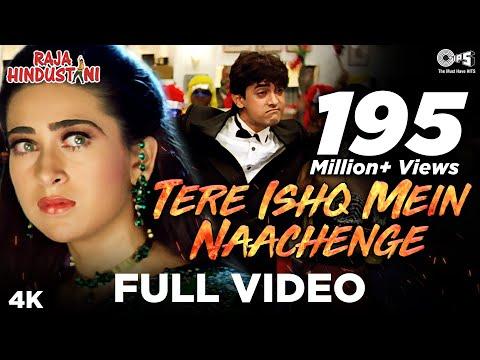 Tere Ishq Mein Nachenge | Aamir & Karisma |  Kumar, Alisha & Sapna | Raja Hindustani | 90's Hit