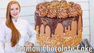 The BEST German Chocolate Cake by Tatyana's Everyday Food