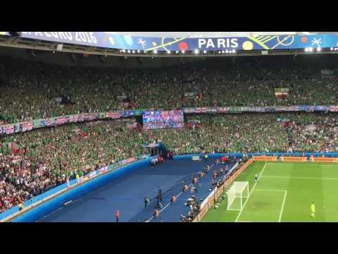 Фанаты сборной Северной Ирландии в матче с Германией онлайн видео
