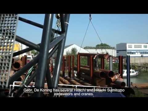 Hitachi Sumitomo crawler crane SCX1000A-3