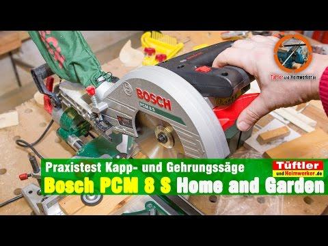 Bosch Gehrungssäge Kappsäge PCM 8S Test