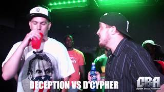 Central Battle Association | Deception vs. D' Cypher