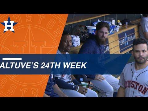 Jose Altuve ignites the Astros in 24th week of 2018