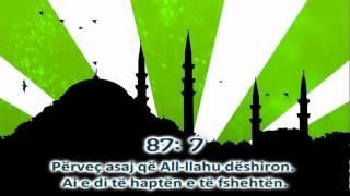 87 Sure Al-a'la - Idris Abkar (shqip) Hd