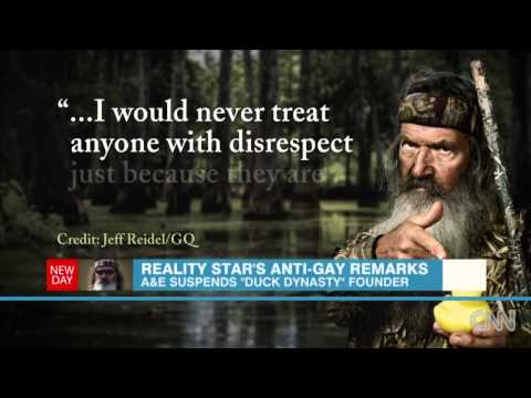 Remarks About Gays Prompt Suspension Of Duck Dynasty Star Phil Robertson