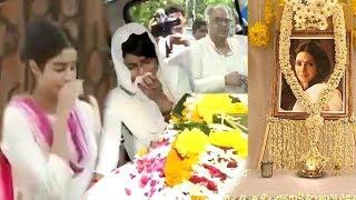 Video Sridevi's PRAYER MEET At Chennai House Full Video HD -Jhanvi Kapoor,Khushi Kapoor & Boney Kapoor MP3, 3GP, MP4, WEBM, AVI, FLV Maret 2018