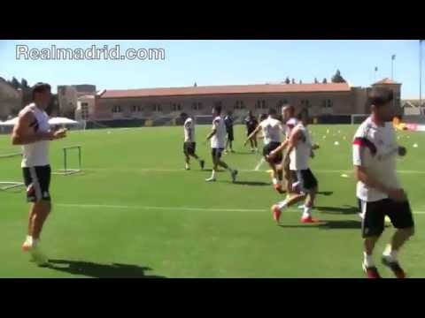 madrid - This is how Real Madrid train.
