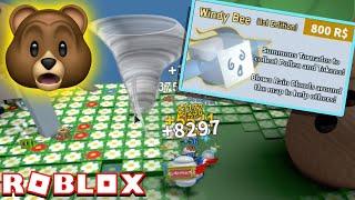 My 800 ROBUX Windy Bee IS INSANE!! | Roblox Bee Swarm Simulator
