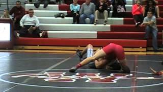 Austin Weygandt (Odessa) vs. Jered Lockhart (Boliva) 160 lbs