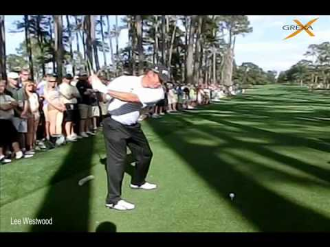Lee Westwood – The Masters practice round – Augusta National Golf Club