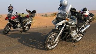 10. 2012 BMW R1200GS Adventure | First Time Off Road | Sand and Gravel | UAE