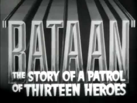 Bataan - A classic movie trailer All rights go to MGM and whoever else made the film.