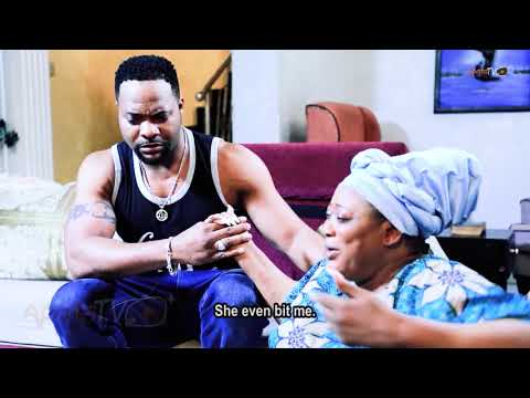 Bolanle Ninalowo Gives Yinka Quadri An irresistible Surprise - Legal Wife Yoruba Movie
