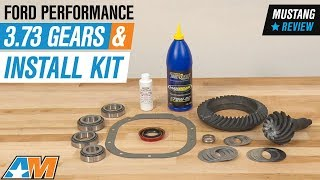 1986-2009 Mustang V8 Ford Performance 3.73 Gears and Install Kit Review