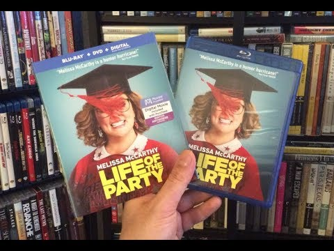Life Of The Party BLU RAY REVIEW + Unboxing