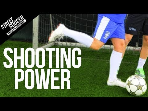 How to improve shooting power – Football fitness