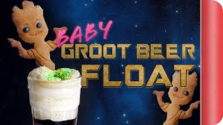 Gingerbread Groot Beer Float From Guardians of the Galaxy by SORTEDfood