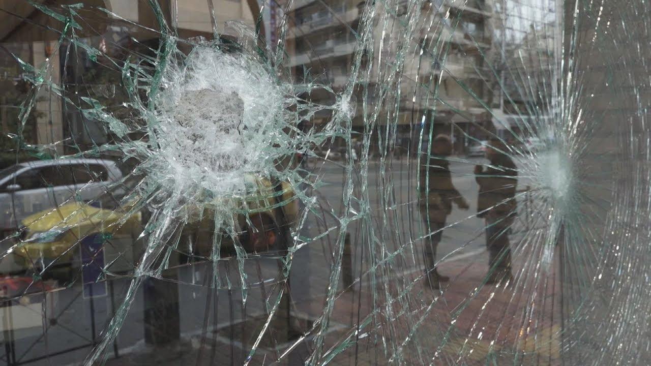 Επεισόδια στην οδό Πατησίων. Έσπασαν καταστήματα