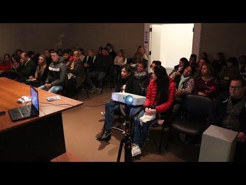 Se realizó una charla para personas con discapacidad
