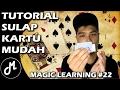 Tutorial Sulap Kartu 5 Menit Langsung Bisa!! - Magic Learning #22