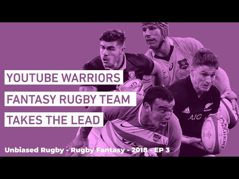 Rugby Fantasy 2018: The Rugby Championship Week 3 Congrats to