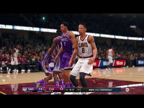 NBA Live 18  Season Game Sacramento Kings vs Cleveland Cavaliers 2017 2018 Season