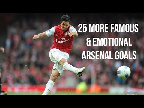 25 More Famous & Emotional Arsenal Goals | HD