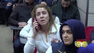 SAMSUN'DA SAĞLIK OCAĞINA SİLAHLI SALDIRI ANI KAMERALARDA! SAĞLIKÇILAR TEPKİLİ..