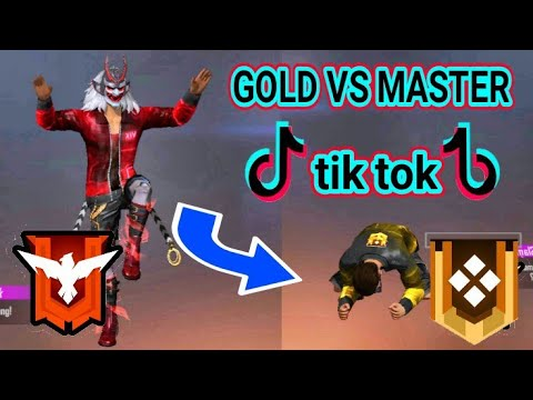 Tik tok ff free fire master vs gold terbaru lucu keren free fire