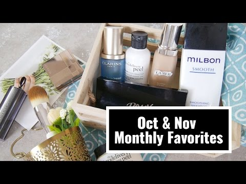 Oct & Nov Monthly Favorites!